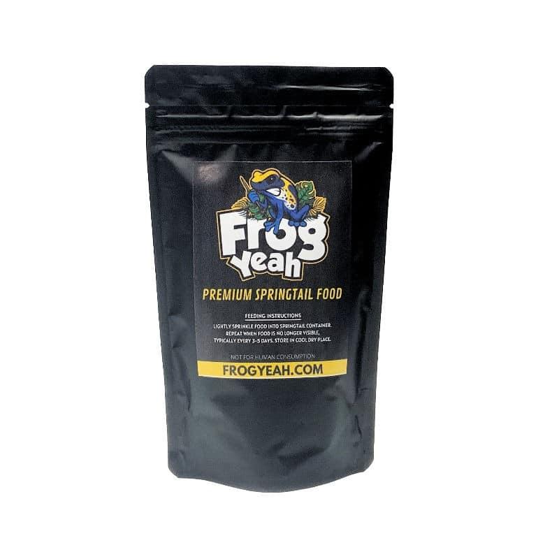 FrogYeah springtail food